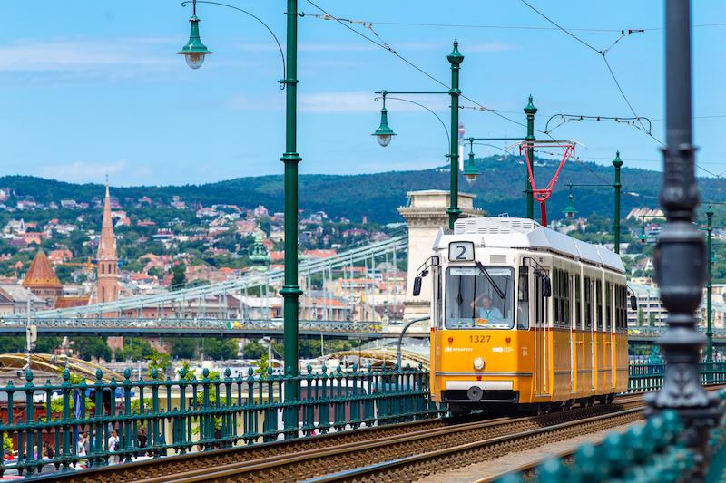 Tram n.2 di Budapest